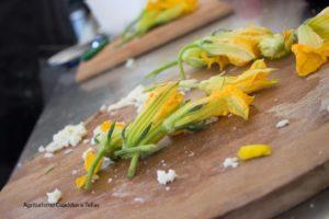 Verdure di stagione all'Agriturismo Cuaddus e Tellas