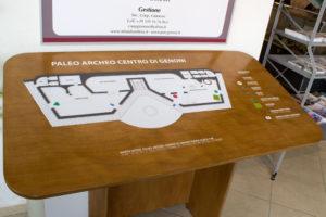 Percorso di visita e mappa tattile del Museo PARC di Genoni